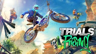 Trials Rising NEW Tandem Mode Gameplay With Speedy! E3 2018