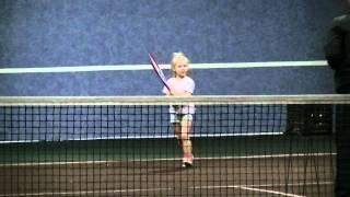 Детский теннис! 5 лет!