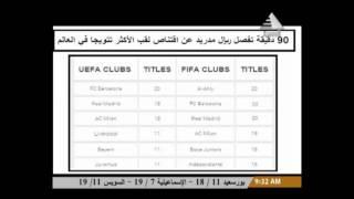 ريال مدريد يقتنص لقب الأكثر تتويجا في العالم من الأهلي .. فيديو