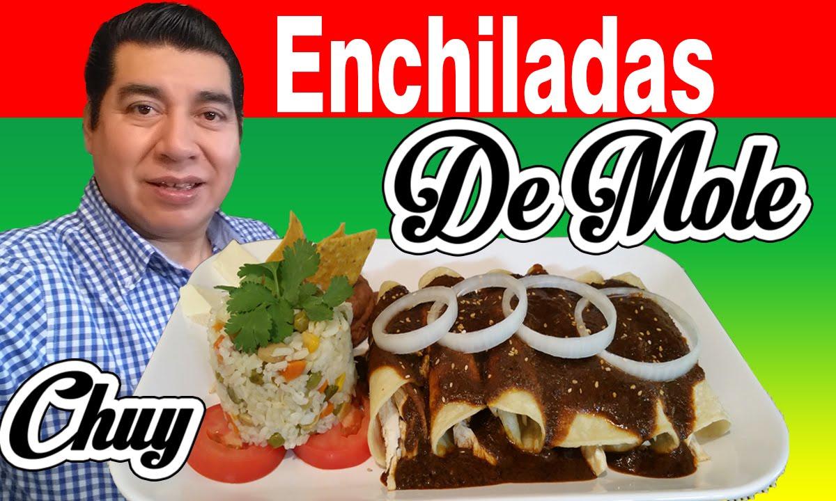 Enchiladas de mole poblano receta chuy enchiladas de mole ...