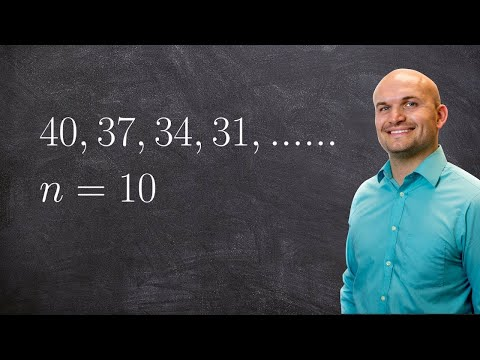 Pre-Calculus - Learn how to find the partial sum of a arithmetic sequence