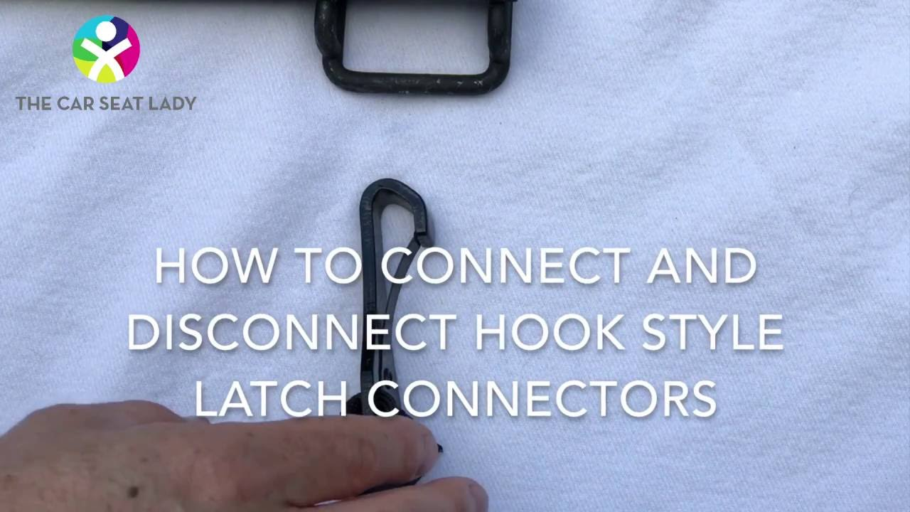 LATCH Hooks On Car Seats Tricks To Connect And Disconnect Them Easily