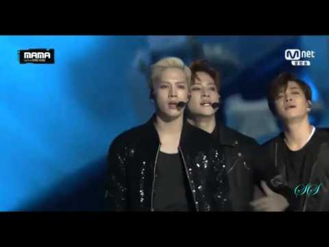MAMA 2015 GOT7 X BTS COLLAB STAGE