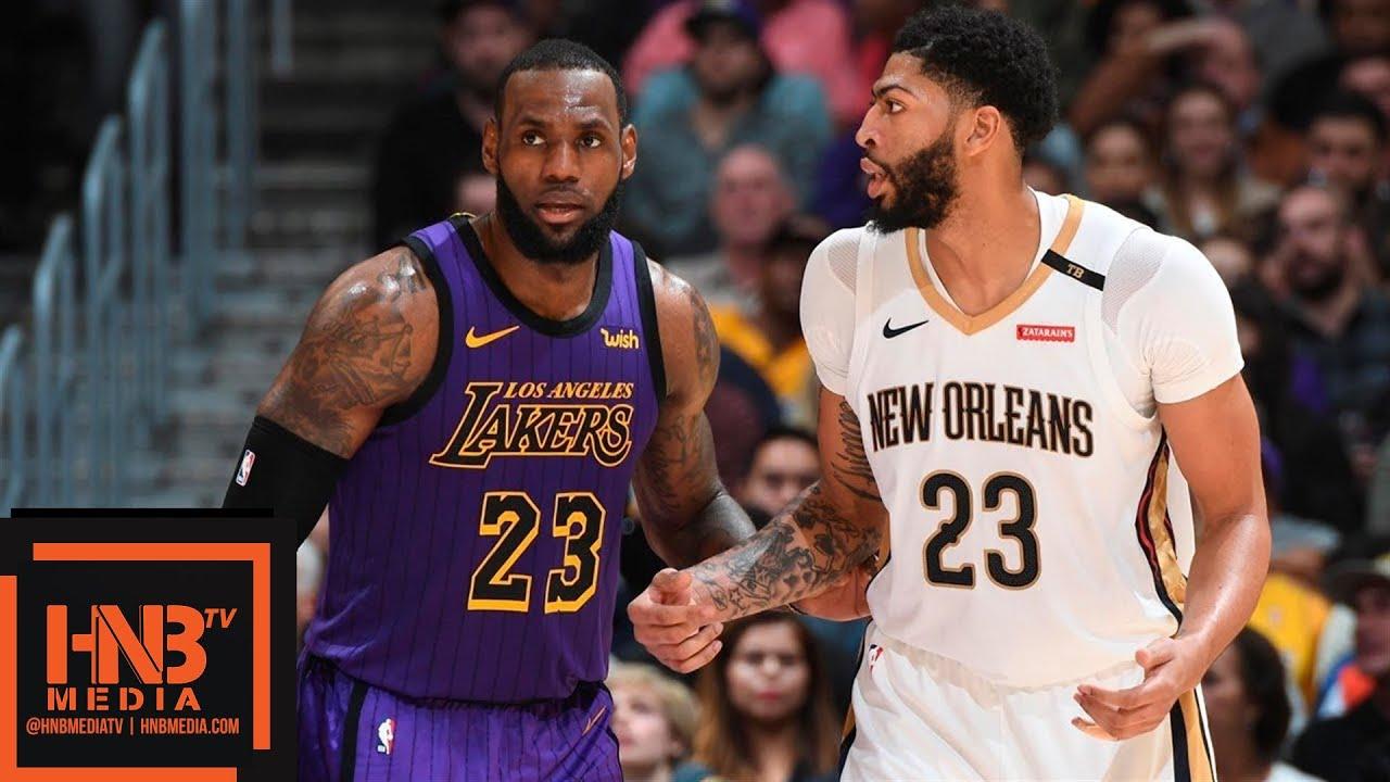 La Lakers Vs New Orleans Pelicans Full Game Highlights 12 21 2018 Nba Season Youtube