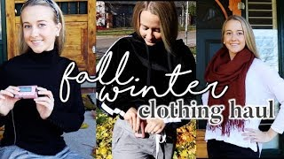 FALL & WINTER TRY ON CLOTHING HAUL // where do I put my insulin pump?