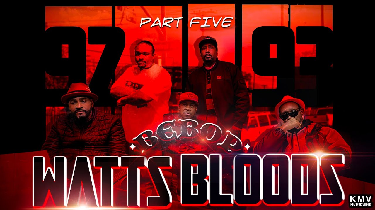 K.M.V. 3.9.5 - Kool 93 92 Bebop Watts Bloods Final Segment call for Peace