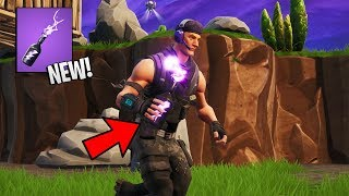 Fortnite Storm Flip Bottle GAMEPLAY (New Item)