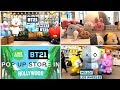 BTS x LINE FRIENDS POP-UP STORE TOUR IN HOLLYWOOD, LOS ANGELES + BT21 MERCH HAUL