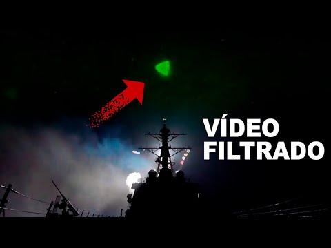 FILTRAN VIDEO DE OVNIS PERSIGUIENDO DESTRUCTORES DE LA MARINA