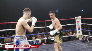 Matty Ryan v Sonny Upton - ENGLISH TITLE FIGHT - BBTV