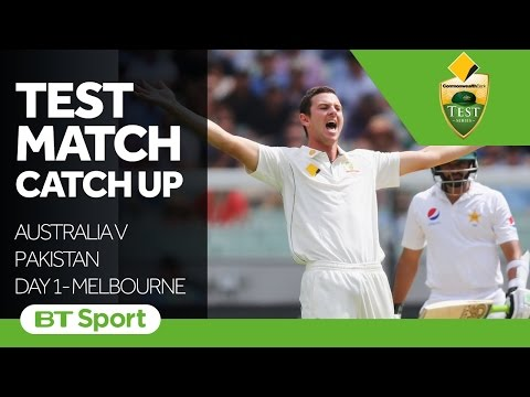 Australia v Pakistan  Second Test Day One Highlights   Test Match Catch Up New Flash Game