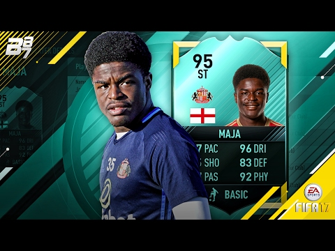 95 RATED PRO PLAYER JOSH MAJA! IN GAME STATS! | FIFA 17 ULTIMATE TEAM