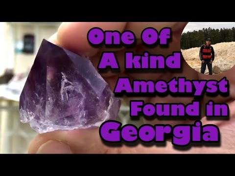 Amazing Gem found @ JXR Amethyst Mine in Georgia - Mining America - Ep 4 -  4/16/16