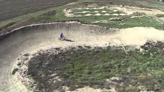 Colin & Tommy at the Eagle Colorado BMX track drone footage