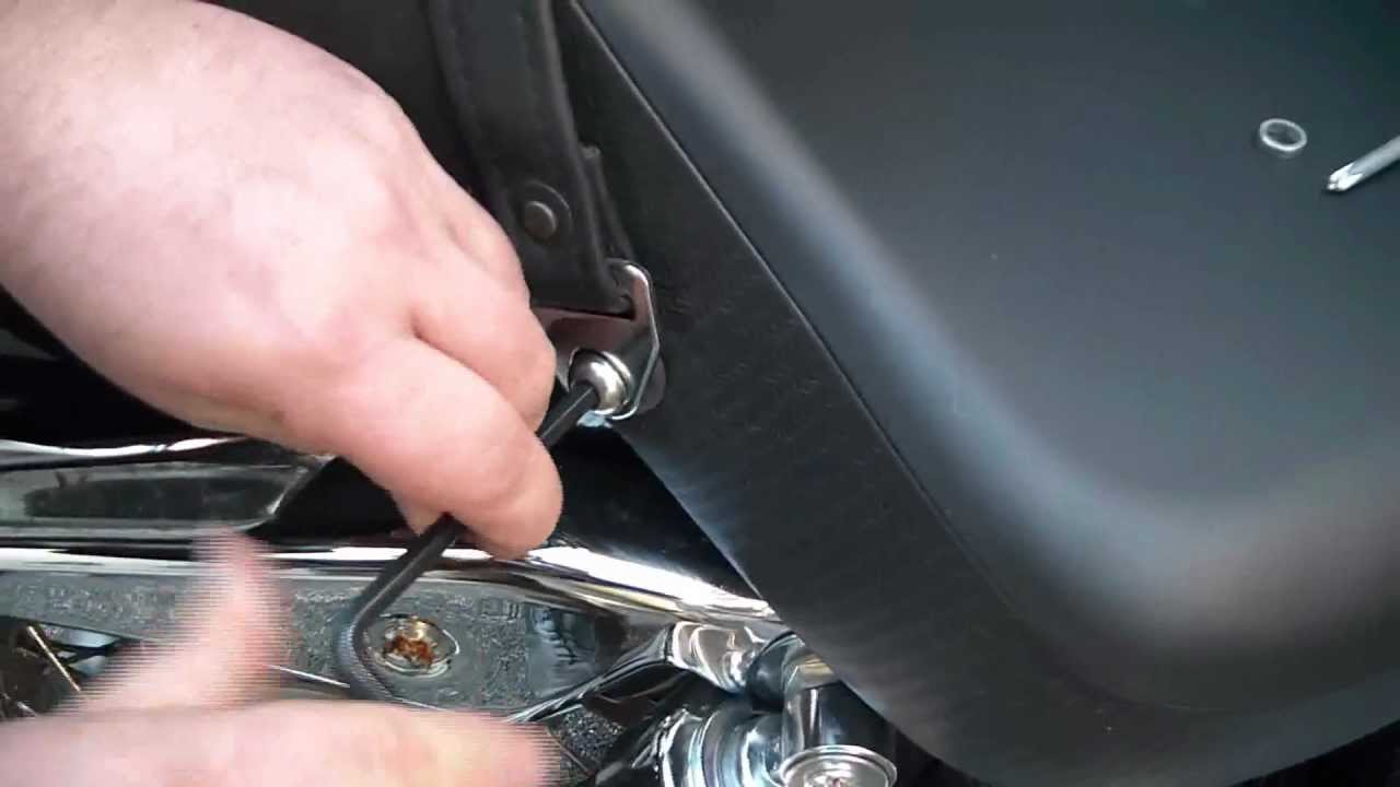 How To Install The Seat On A Honda Shadow Spirit