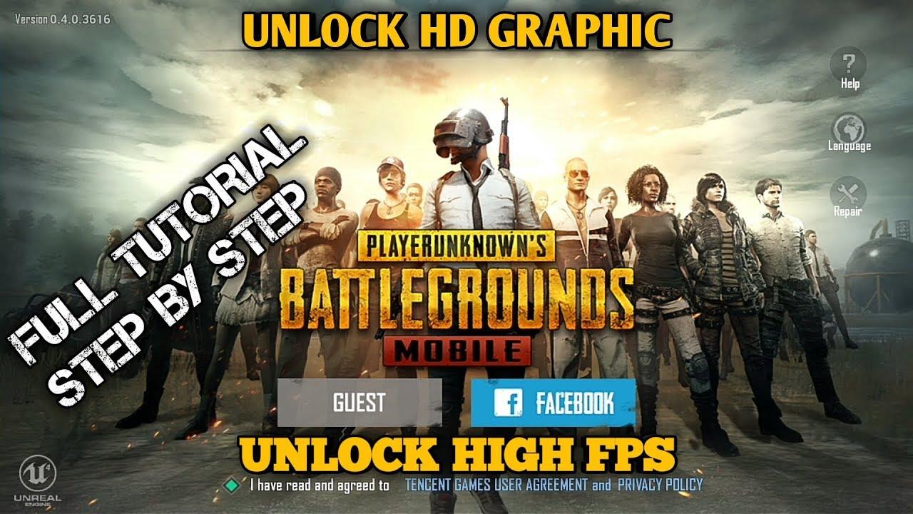 Unlock Hd Pubg: HOW TO UNLOCK HIGH FPS & HD GRAPHIC