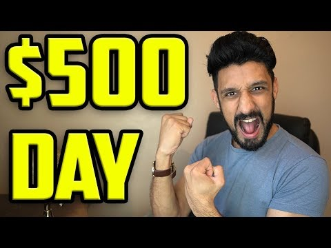 How To Make $500 In One Day! (Full Tutorial With PROOF!) thumbnail