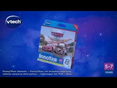 InnoTab - Learning App Tablet - Cars 2 - TV Toy Commercial - TV Ad - TV Spot - VTech