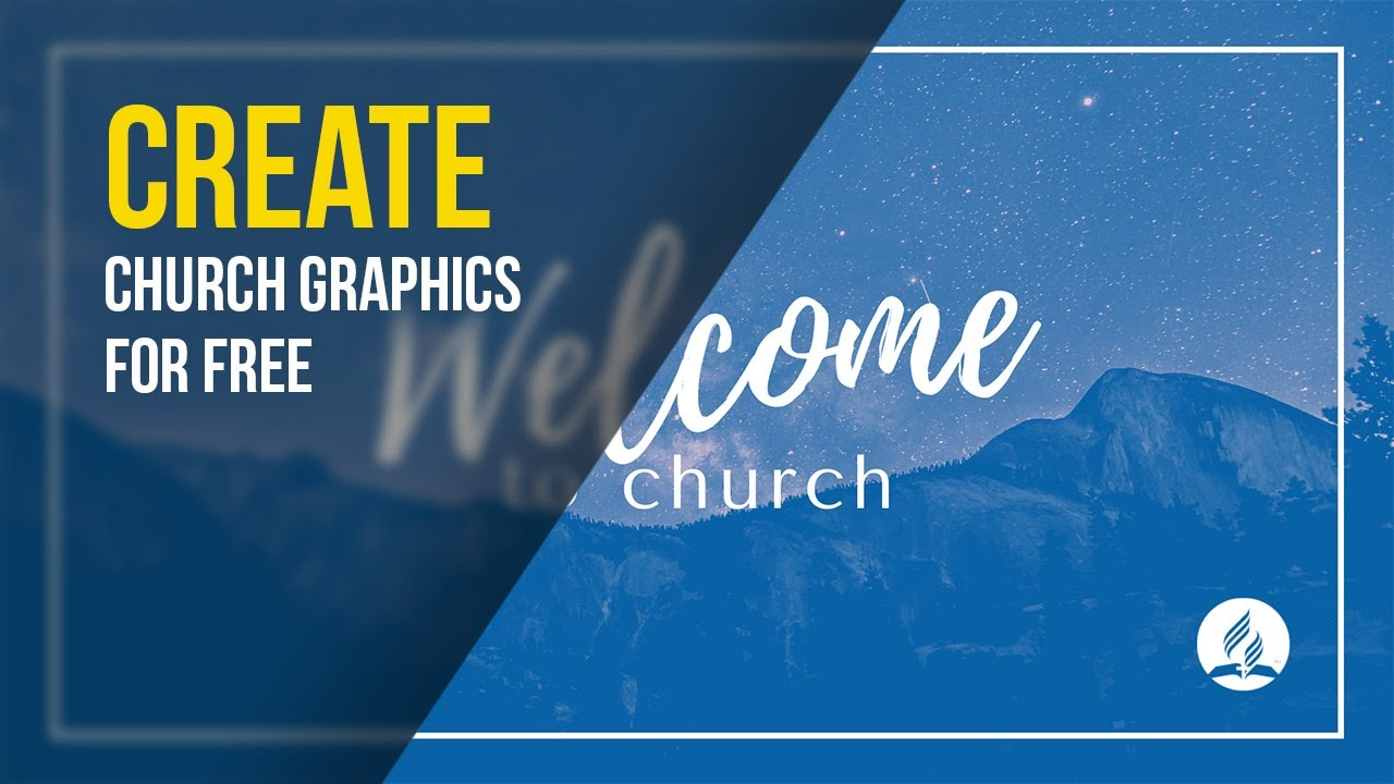 Design Professional HQ Graphics for Online Worship