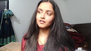 How to straighten your hair| Hindi vlog| perfect straight hair| Without hair spray| Anupama nainwal