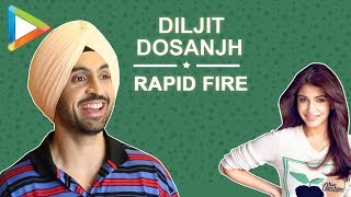 Anushka Sharma or Taapsee Pannu! Diljit Dosanjh's surprising answer | Rapid fire | Soorma