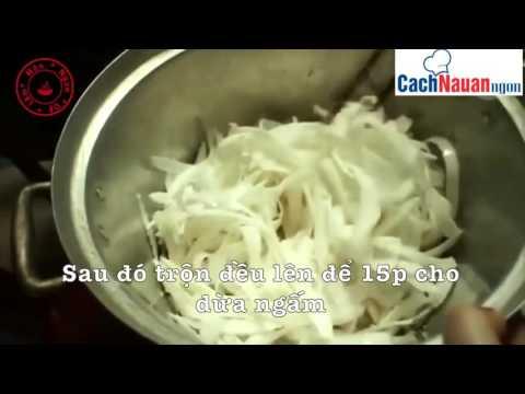 Cách làm mứt dừa sữa tươi cực ngon đón tết