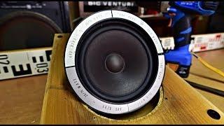 Reprosoustavy Tesla ARS 9205.10 dismounting bass speaker demontáž reproduktoru Tesla ARN 5604