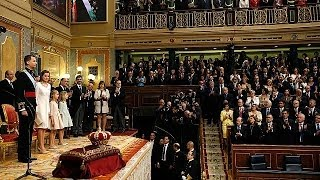 Felipe VI sworn in as king of Spain - official ceremony