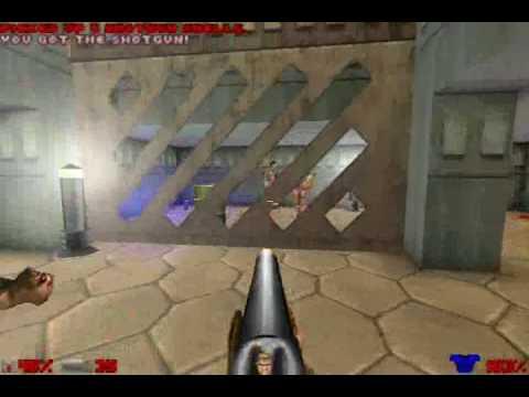 Ultimate Doom Gameplay on Doomsday Engine
