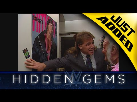"Shawn Michaels visits Bret Hart's ""mom"" during surprise visit in rare WWE Hidden Gem (WWE Network.. thumbnail"