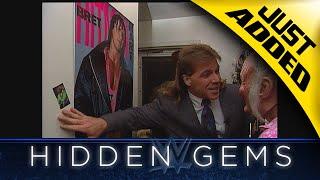 Shawn Michaels visits Bret Hart's