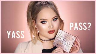 URBAN DECAY NAKED ULTIMATE BASICS PALETTE | First Impressions + Demo
