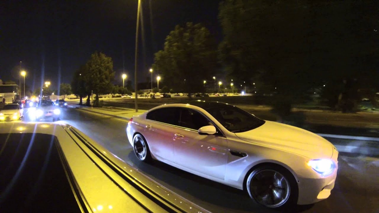 Bmw M6 Gran Coupe >> BMW M5 E60 (Mr boomerang) VS bmw m6 gran coupe 2014 from 40 to 180 km (M5 WIN) - YouTube