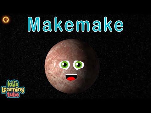 Planet Song for Kids/Solar System Songs for Children/ Makemake Song for Kids