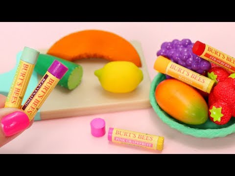 DIY Crafts - How to Make: Miniature Burt's Bees Lip Balm for American Girl doll VSCO Girls