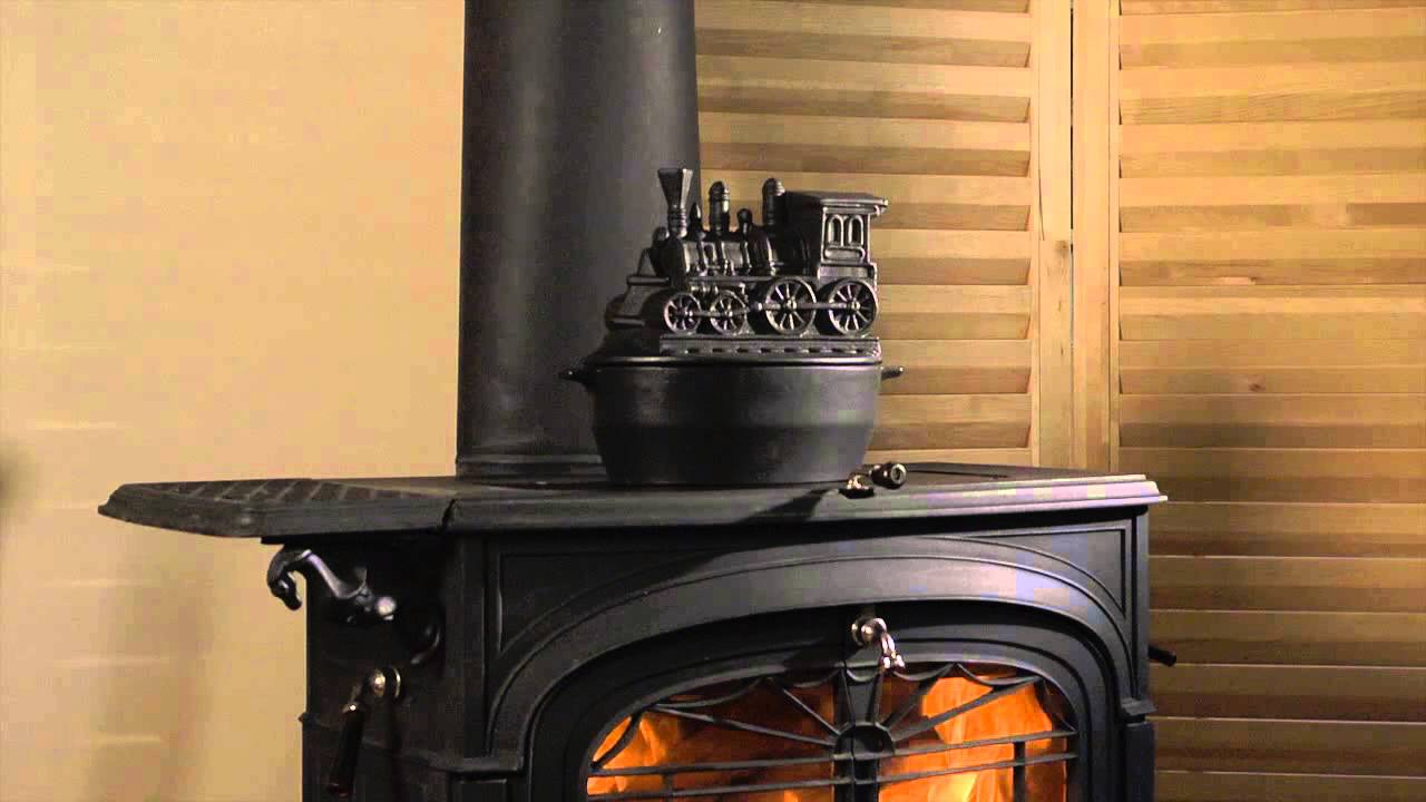 Purchase Product At: http://www.plowhearth.com/train-woodstove-steamer_p10810.html Add healthy moisture to the air and dress up your woodstove with our exclu...