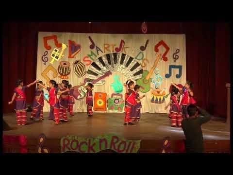 Swagat Geet - Smart Kids Pri-Primary School Annual Function - By CT STAR DANCE STUDIO