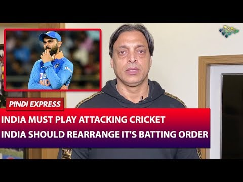 India Vs Australia | 2nd ODI | Virat Kohli Needs To Come Back At No.3 | Shoaib Akhtar