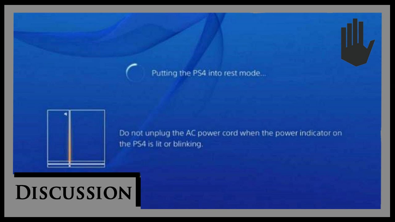 Put Your PS4 In Rest Mode - Discussion