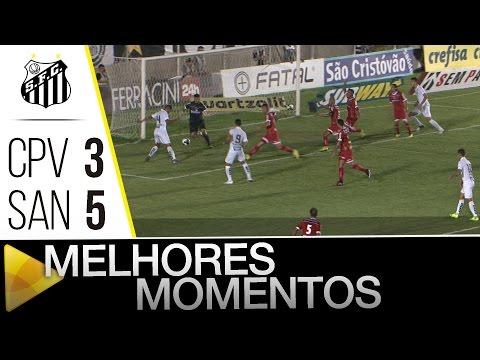 Capivariano 3 x 5 Santos | MELHORES MOMENTOS | Paulistão (03/04/16)