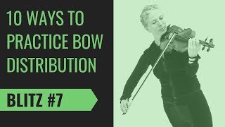 Violin Bow Tip #7: Anticipate the Speed