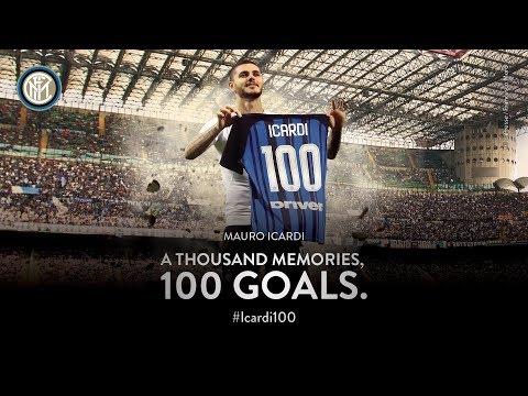 MAURO ICARDI |  All 100 Inter Goals | #Icardi100 ⚽️⚫️🔵