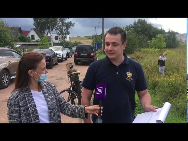 Народный сбор на сьемки телепрограммы о детской площадке в Тимяшкино