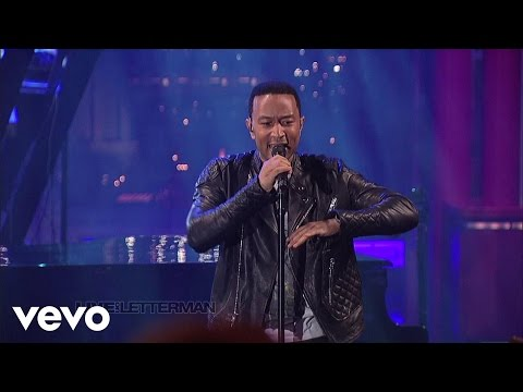 John Legend  Used To Love U  on Letterman