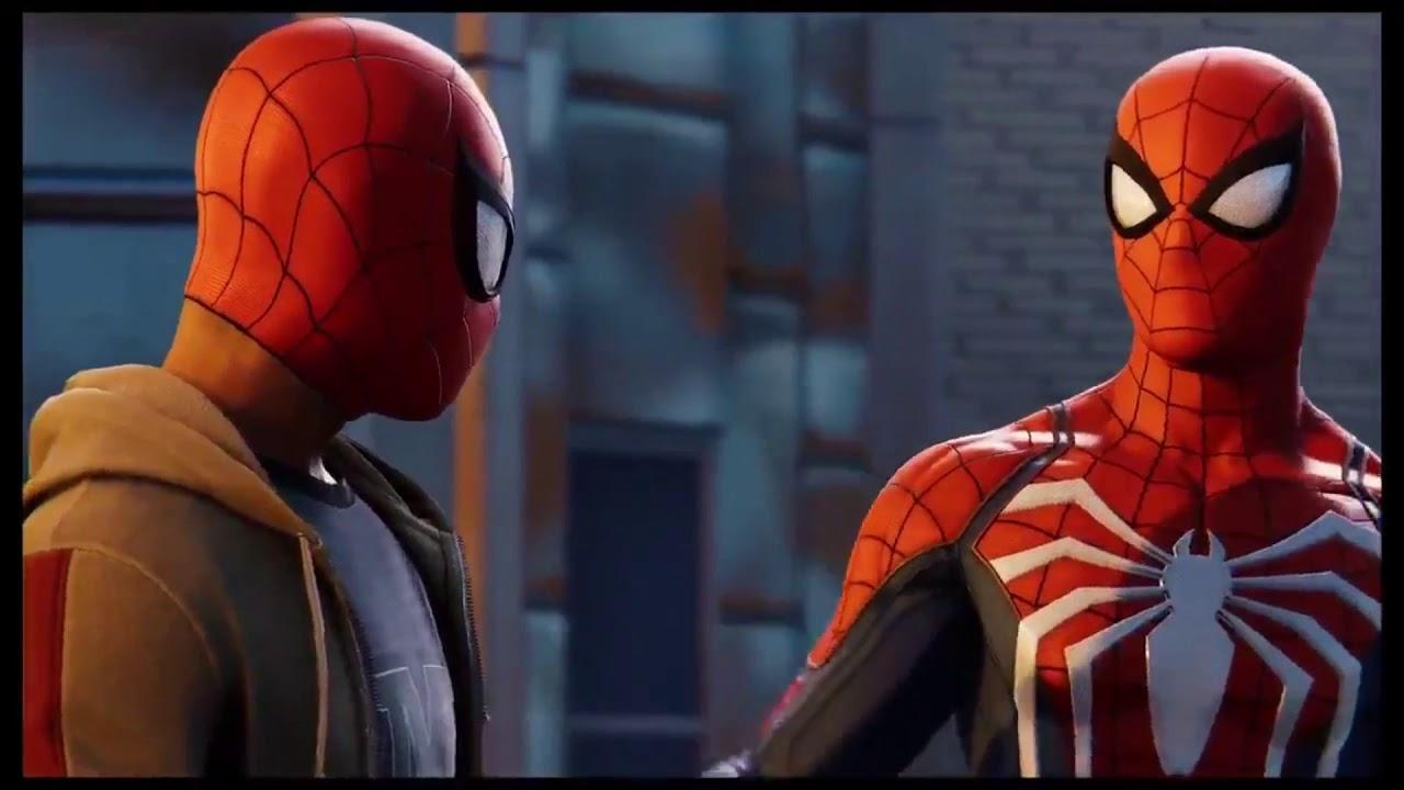 Miles Morales entrena para ser Spider-Man