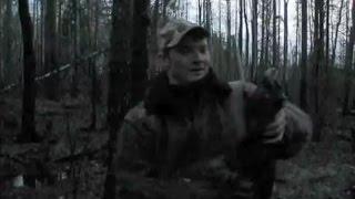 Охота на глухаря.  bird hunting.