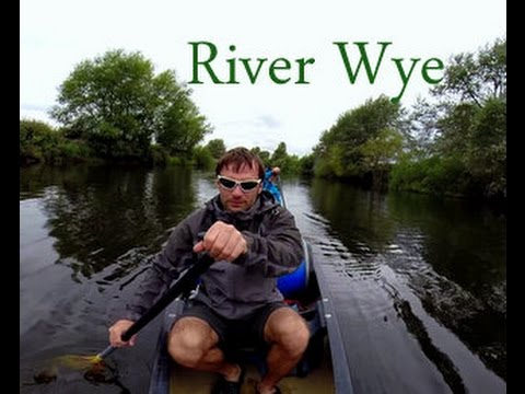 Go Pro Hero3+ River Wye(Wales) 3 days summer canoe