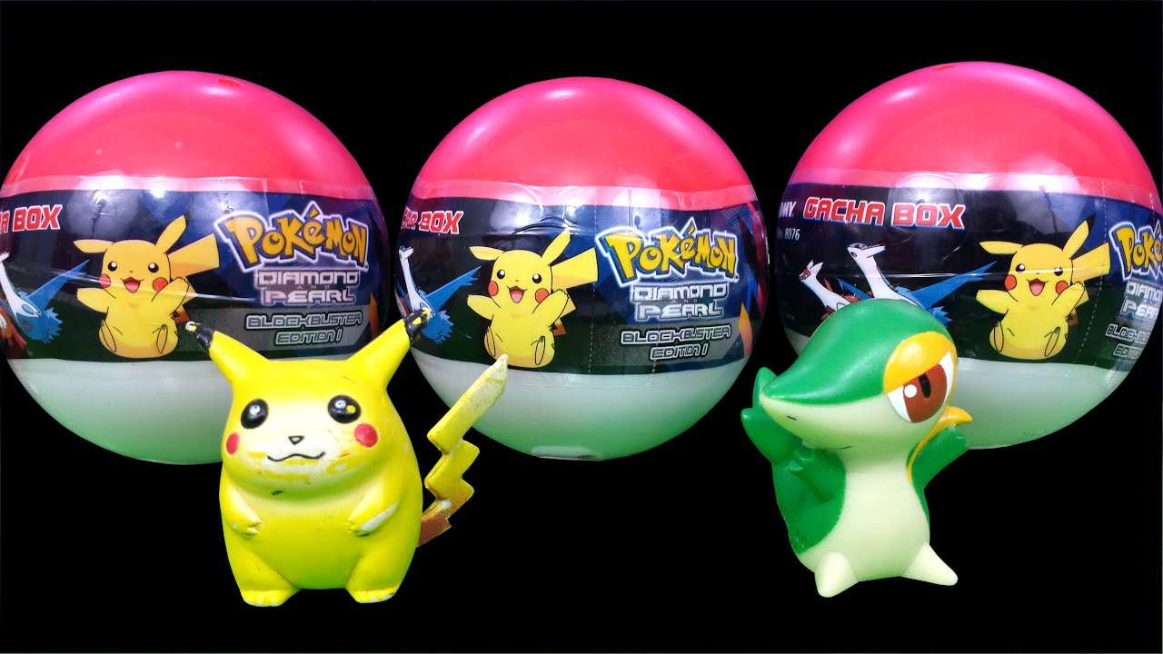 pokémon surprise balls gacha box diamond & pearl 神奇宝贝 ポケモン