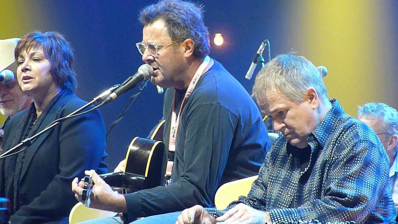 youtube vince gill look at us