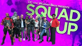 Squad Up!  The Suicide Squad Cosplay Contest Winners